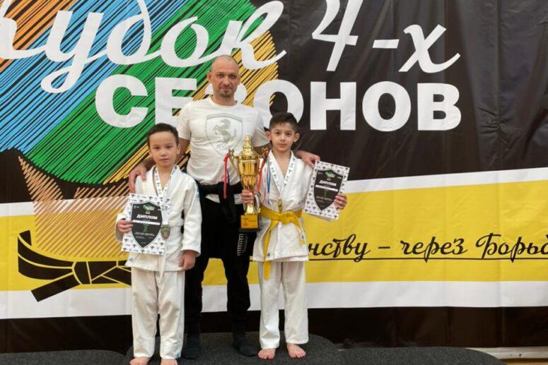 Турнир по Дзюдо Кубок 4-х Сезонов в Самбо-70