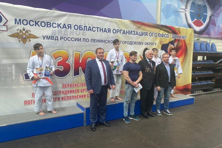 Открытое первенство по Дзюдо Ленинского района